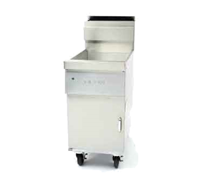 Frymaster / Dean D60GNG Gas Fryer - (1) 75-lb Vat, Floor Model, NG