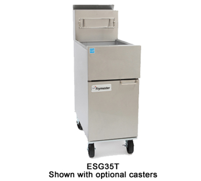 Frymaster ESG35T Gas Fryer - (1) 35-lb Vat, Floor Model, NG