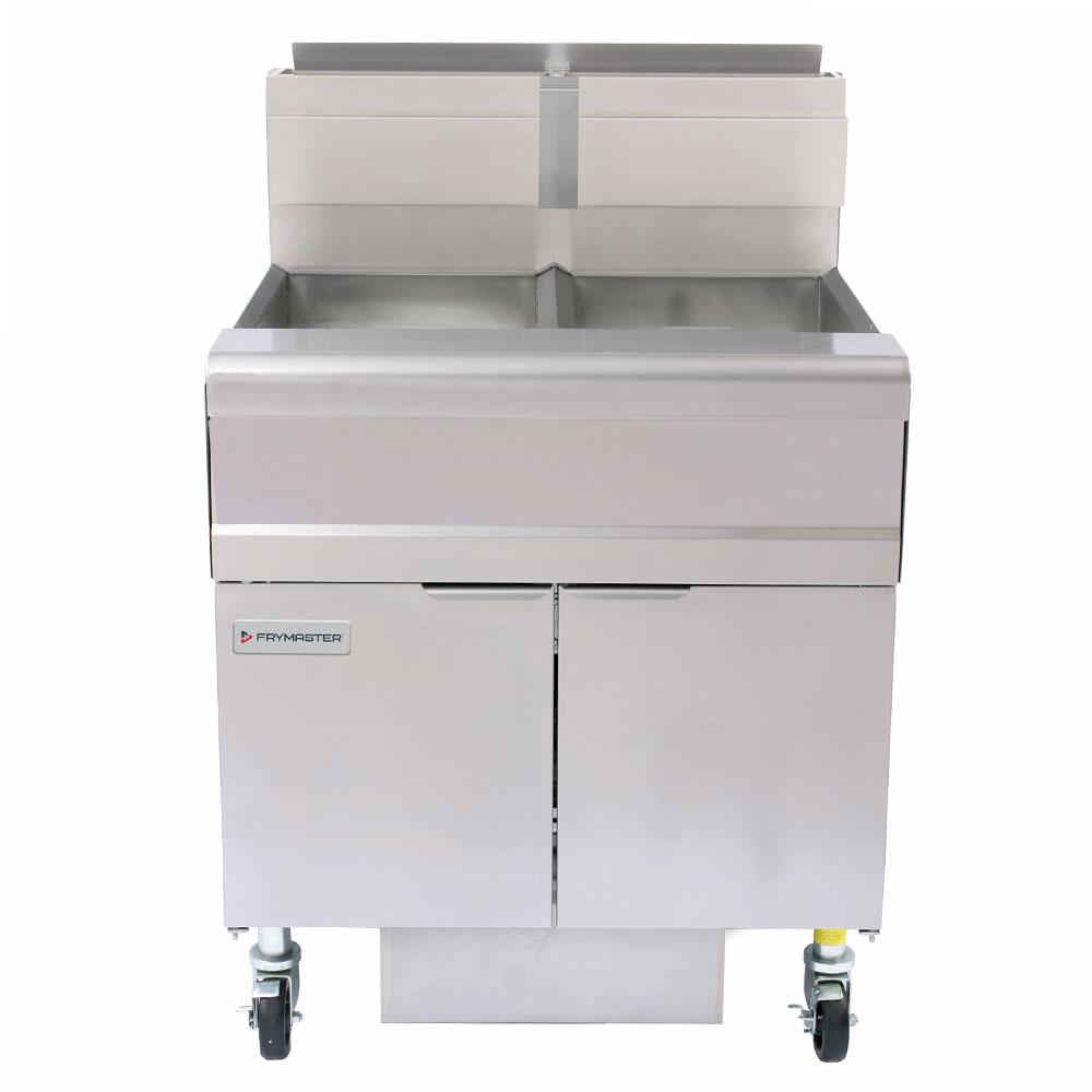 Frymaster FMJ250 Gas Fryer - (2) 50-lb Vats, Floor Model, LP