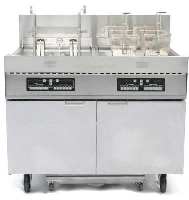 Frymaster / Dean FPC228BL Electric Fryer - (2) 110-lb Vat, Floor Model, 240v/3ph