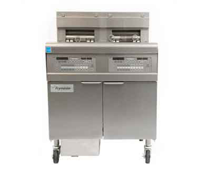 Frymaster / Dean FPEL214C Electric Fryer - (2) 30-lb Vat, Floor Model, 240v/1ph