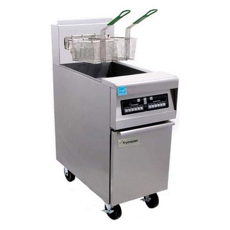 Frymaster FPH155 Gas Fryer - (1) 50-lb Vat, Floor Model, NG