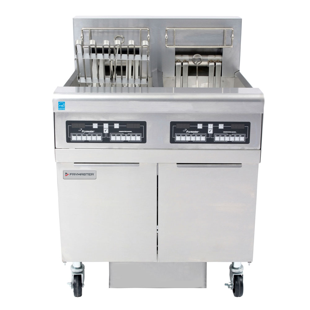 Frymaster FPRE214 Electric Fryer - (2) 50-lb Vat, Floor Model, 208v/3ph
