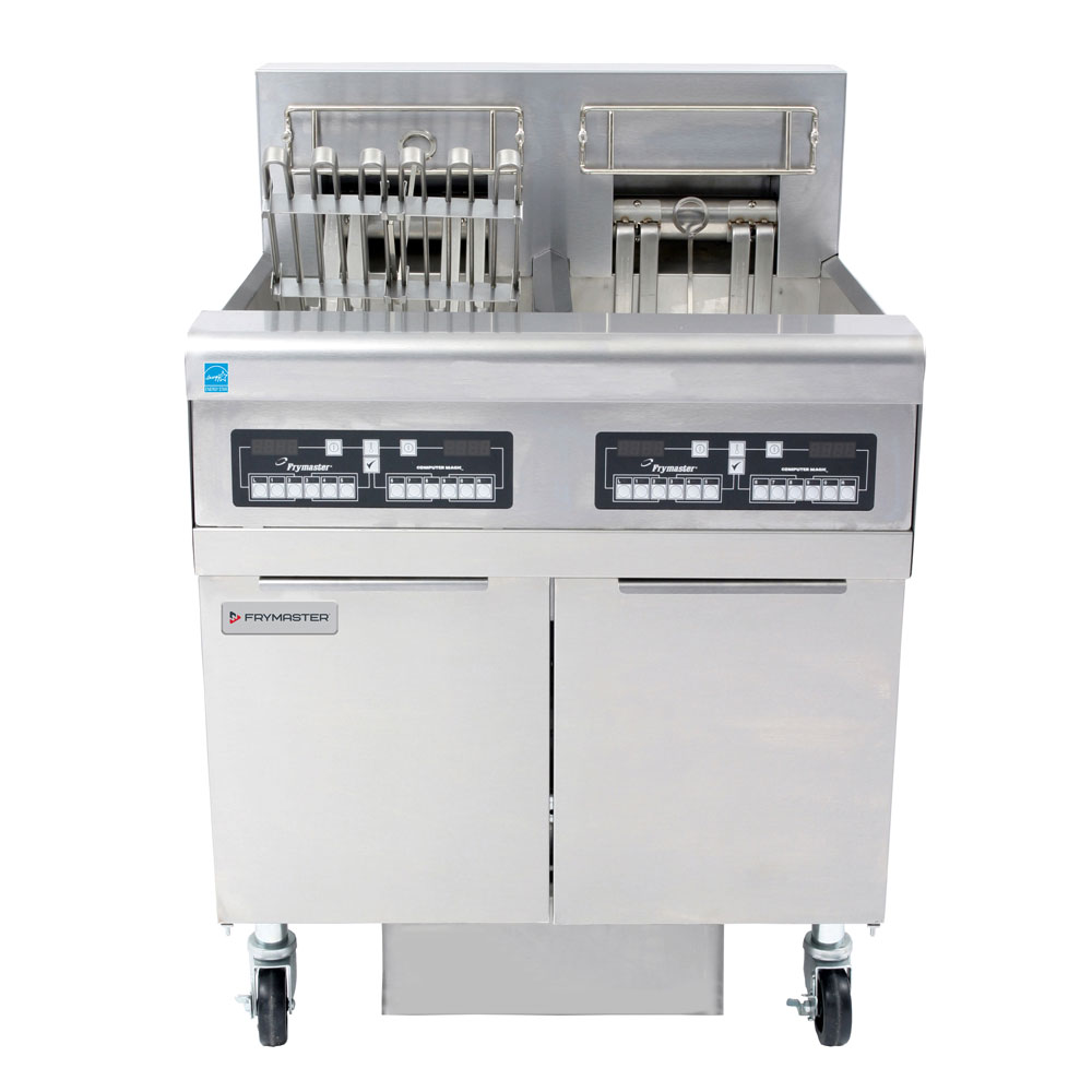 Frymaster FPRE217 Electric Fryer - (2) 50-lb Vat, Floor Model, 208v/3ph