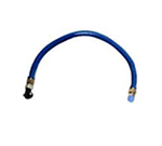 "Frymaster / Dean 806-1701 36"" Gas Connector Hose w/ 3/4"" Female/Male Couplings"