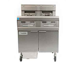 Frymaster / Dean FPEL214C Electric Fryer - (2) 30-lb Vat, Floor Model, 240v/3ph