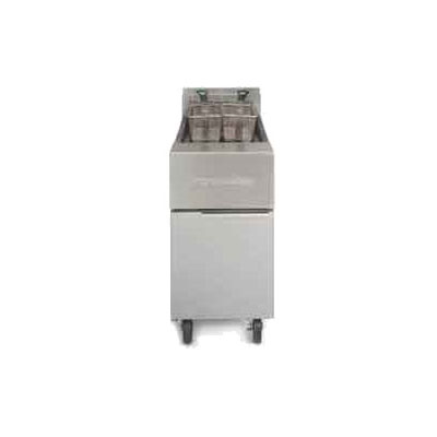 Frymaster GF14 Gas Fryer - (1) 40-lb Vat, Floor Model, NG