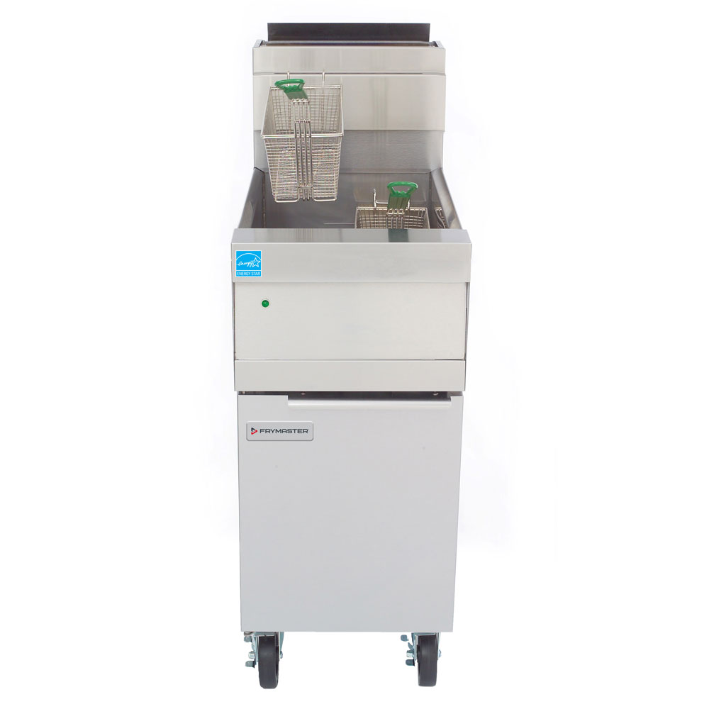Frymaster HD150G Gas Fryer - (1) 50-lb Vat, Floor Model, NG