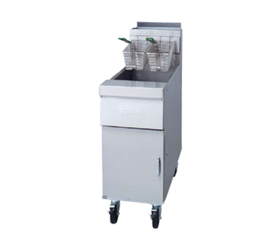 Frymaster HD50G Gas Fryer - (1) 50-lb Vat, Floor Model, NG