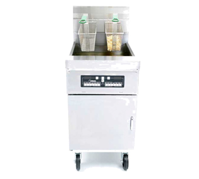 Frymaster HD60G Gas Fryer - (1) 80-lb Vat, Floor Model, NG