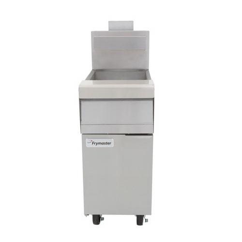 Frymaster MJ140 Gas Fryer - (1) 40-lb Vat, Floor Model, NG