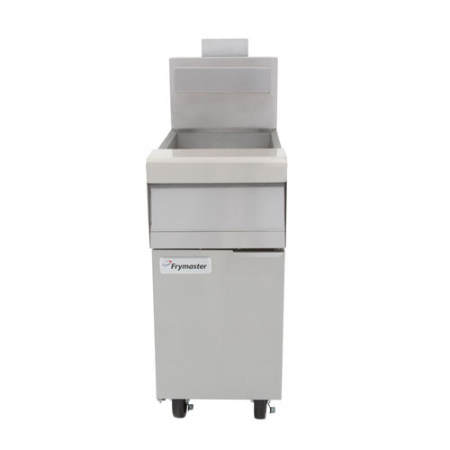 Frymaster MJ150 Gas Fryer - (1) 50-lb Vat, Floor Model, NG