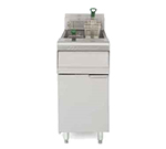 Frymaster MJ35 Gas Fryer - (1) 40-lb Vat, Floor Model, LP