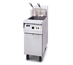 Frymaster MJ45 E SD Gas Fryer - (1) 50-lb Vat, Floor Model, NG