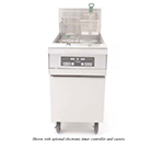 Frymaster MJCF Gas Fryer - (1) 80-lb Vat, Floor Model, NG