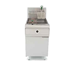 Frymaster MJ1CF Gas Fryer - (1) 80-lb Vat, Floor Model, NG