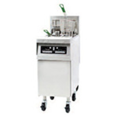 Frymaster RE14-2E Electric Fryer - (1) 50-lb. Split Pot, Floor Model, 240v/3ph
