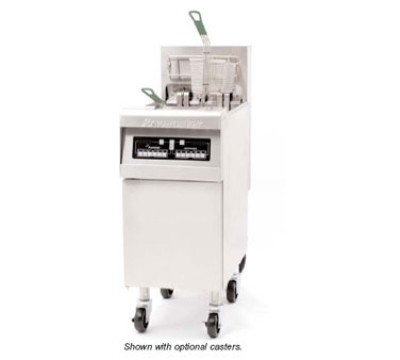 Frymaster / Dean RE14TCSC2401 50-lb Dual Fryer w/ Computer & TRIAC Pkg All Stainless 14-kW 240/1 V Restaurant Supply