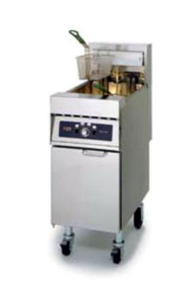 Frymaster / Dean RE17SD Electric Fryer - (1) 50-lb Vat, Floor Model, 208v/1ph