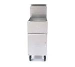 Frymaster / Dean SM150G Gas Fryer - (1) 50-lb Vat, Floor Model, NG