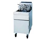 Frymaster / Dean SM60GNG Gas Fryer - (1) 75-lb Vat, Floor Model, NG