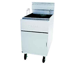 Frymaster / Dean SM80GNG Gas Fryer - (1) 100-lb Vat, Floor Model,NG