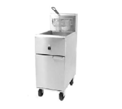 Frymaster / Dean SR14E Electric Fryer - (1) 40-lb. Vat, Floor Model, 240v/3ph