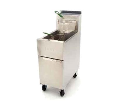 Frymaster / Dean SR142G Gas Fryer - (1) 43-lb Vat, Floor Model, LP
