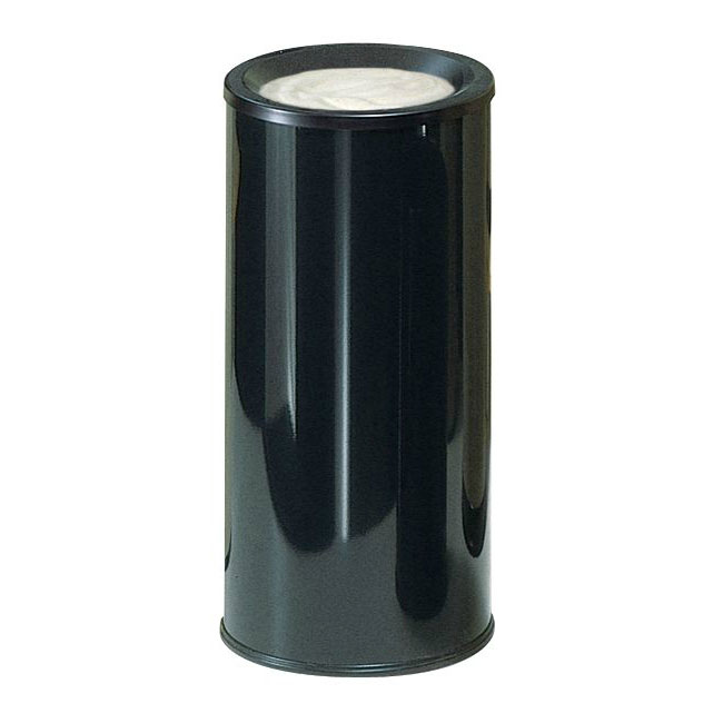 Rubbermaid FG1000EBK Urn Cigarette Receptacle - Decorative Finish