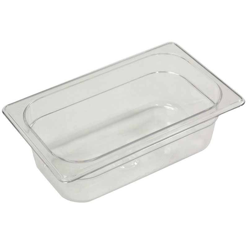 Rubbermaid FG142P00WHT Cold Food Soft Sealing Lid - 1/9 Size, Poly, White