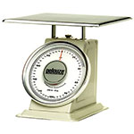 Rubbermaid FG10200 Pelouze Dial Type Portion Scale - 200-lb x 8-oz, Enamel/Chrome