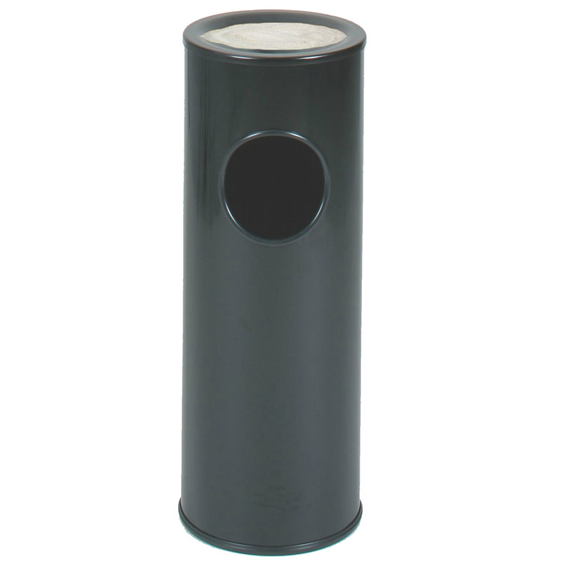 Rubbermaid FG1100EBK Trash Can Top Cigarette Receptacle - Decorative Finish