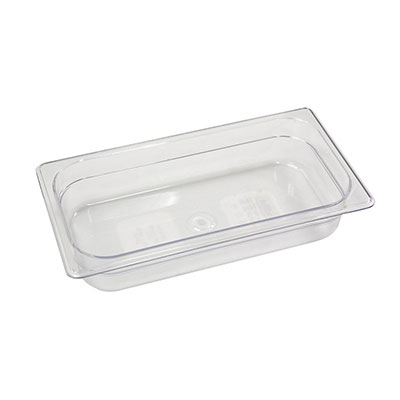 Rubbermaid FG145P00WHT Cold Food Soft Sealing Lid - 1/3 Size, Poly, White