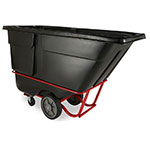 Rubbermaid FG131600BLA Rotational Tilt Truck - Heavy-Duty, 2100-lb Capacity, Black