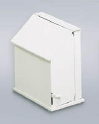 Rubbermaid FG135 Single Stall Sanitary Napkin Receptacle - Floor Model, White
