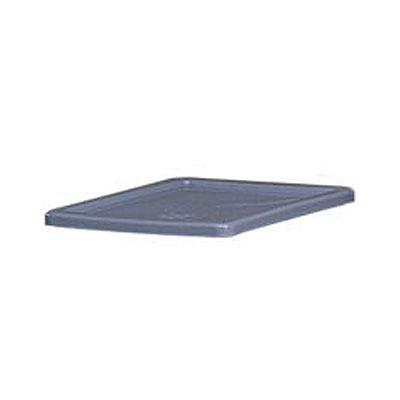 "Rubbermaid FG173000GRAY Palletote Lid - 23-3/4x19-3/4x1"" Gray"