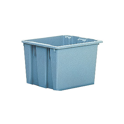 "Rubbermaid FG173100GRAY Palletote Box - 23-1/2x19-1/2x10"" Gray"