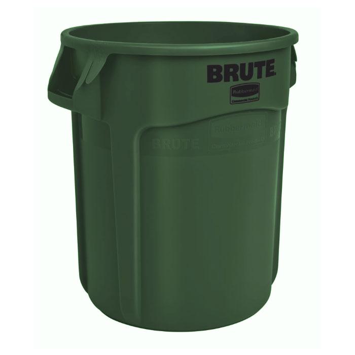 Rubbermaid 1779741 44-gal BRUTE Container - Dark Green