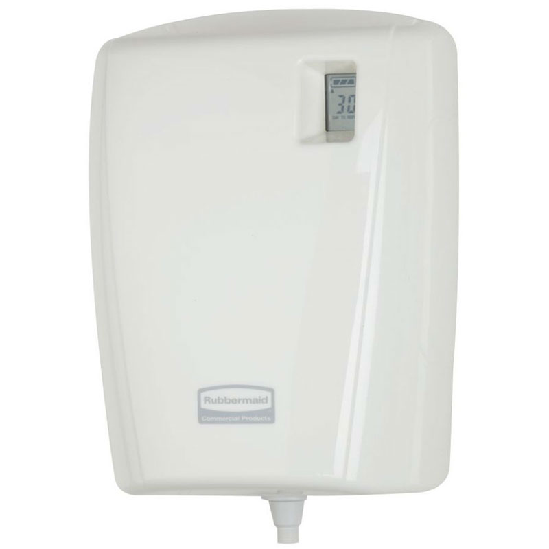 Rubbermaid 1793503 AutoClean Programmable Dispenser - LCD, White