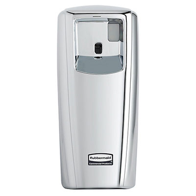 Rubbermaid 1793542 Standard Aerosol System - Auto Odor Control, Chrome