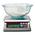 Rubbermaid 1812594 Digital Portion Control Scale - 12-lb Capacity, Dishwasher-Safe
