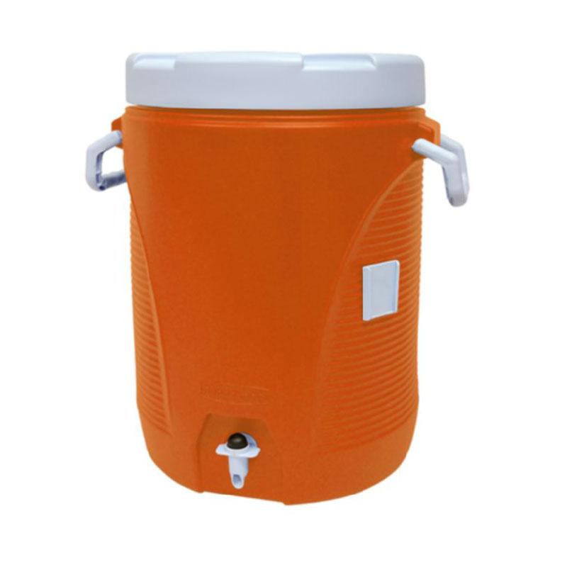 Rubbermaid 1840999 5-gal Cold Beverage Container - Orange