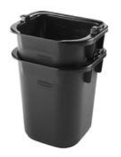 Rubbermaid 1857391 5-Qt Pail - Gray