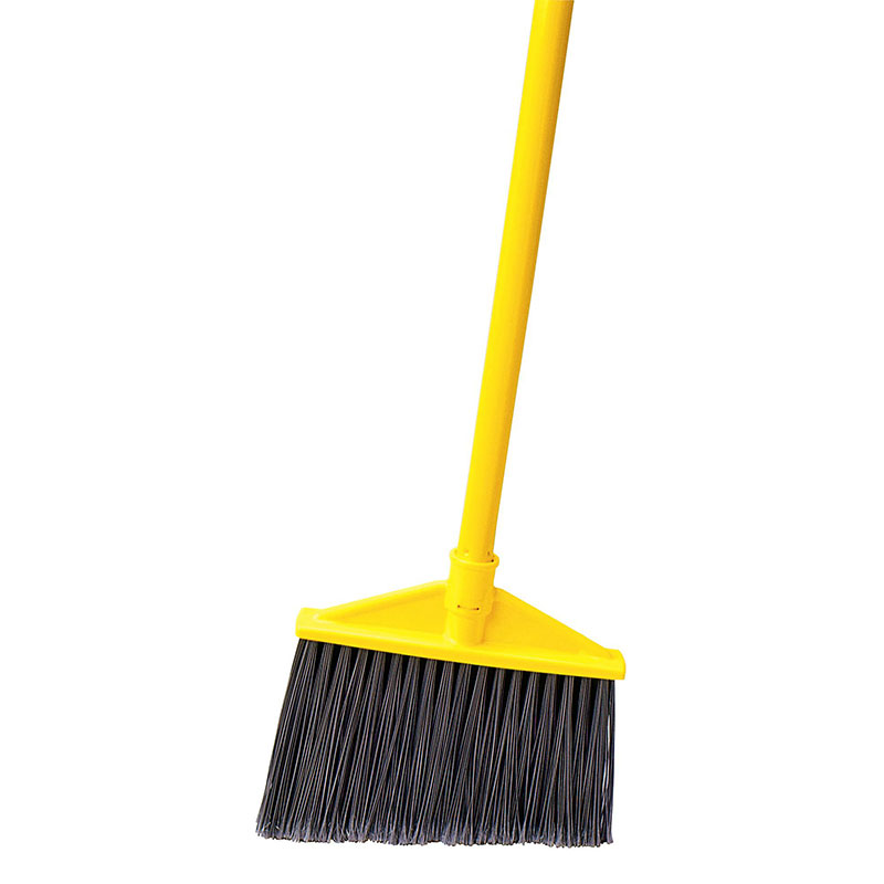 Rubbermaid 1861076 Executive Angle Broom - Vinyl Handle