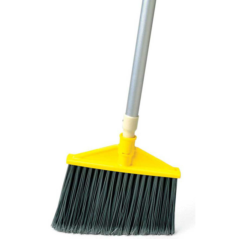 Rubbermaid 1861078 Executive Angle Broom - Aluminum Handle