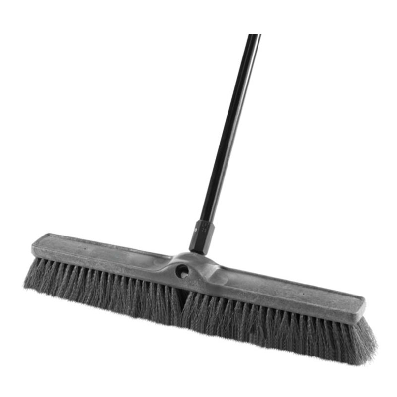 "Rubbermaid 1861211 24"" Medium Sweep Push Broom - Multi-Surface"