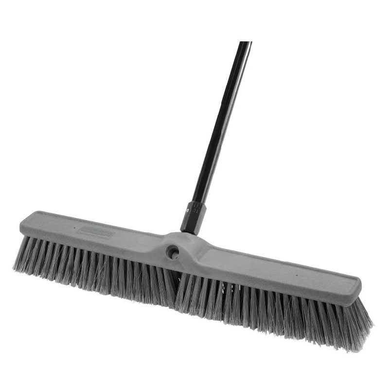 "Rubbermaid 1861213 24"" Fine Sweep Push Broom - Smooth Surface"