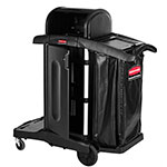 Rubbermaid 1861427 Executive Janitor Cleaning Cart - High Security