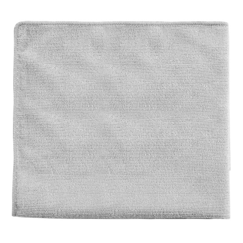 "Rubbermaid 1863889 16"" Executive Multi-Purpose Microfiber Towel - Gray"