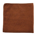 "Rubbermaid 1863890 12"" Executive Multi-Purpose Microfiber Cloth - Brown"